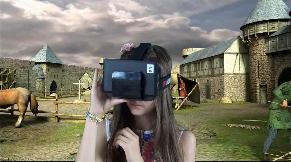 Des casques de réalité virtuelle au Château de Selles-sur-Cher