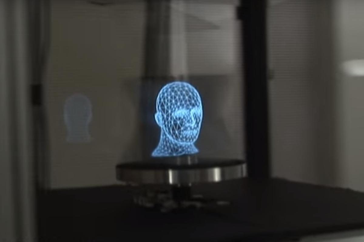 Les hologrammes (5/10) : le miroir rotatif